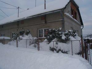 Náš domeček v zimě 2005-06