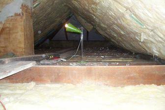Detail izolace stropu-podlahy