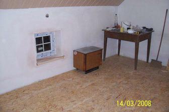 Ložnice - hrubá podlaha