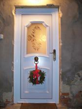 Vánoce 2004 - poprvé s novými dveřmi
