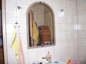 Kousek koupelny...