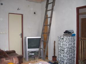 Provizorní obýváček...