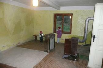 obývák s kuchyní - obývací část