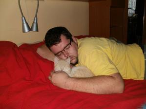 Po celodení dřině je potřebný pořádný odpočinek........