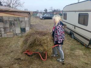 pomocnice =D převoz kompostu