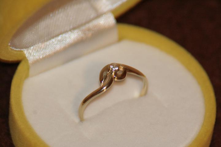 Už máme :-) - moj snubny prsteň