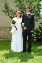 před svatbou