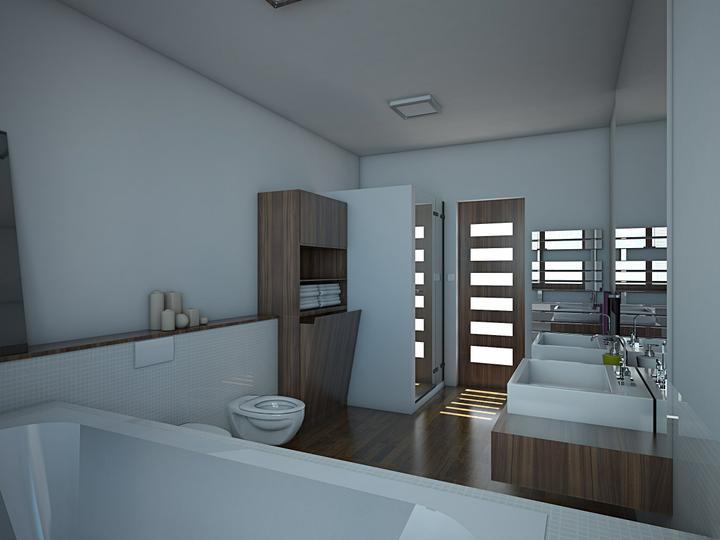 Vizualizácia kúpeľne - Obrázok č. 1