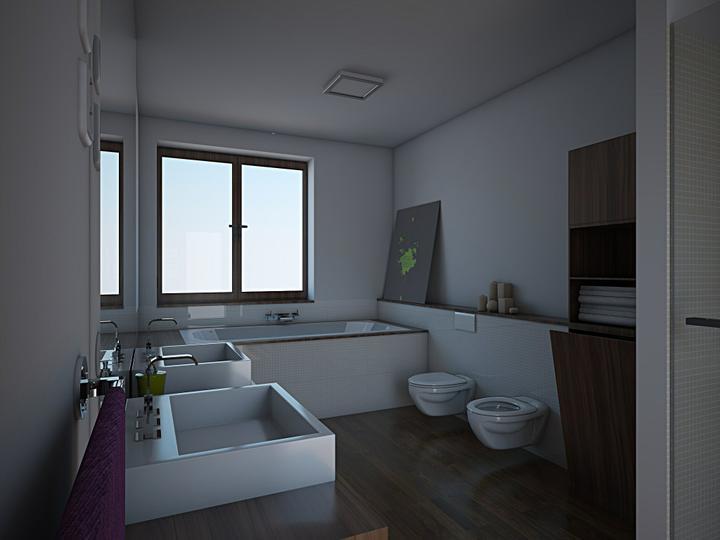 Vizualizácia kúpeľne - Obrázok č. 2