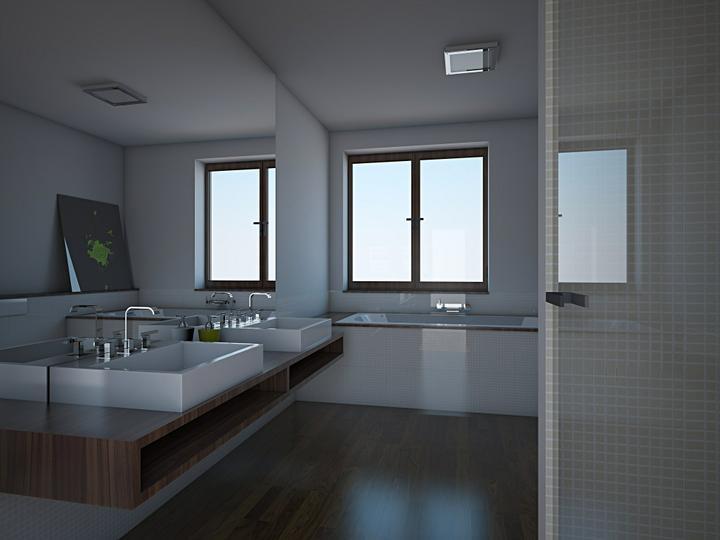 Vizualizácia kúpeľne - Obrázok č. 3