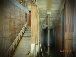 Vyšalované schody..