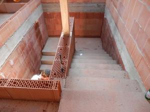 Vylité schodiště