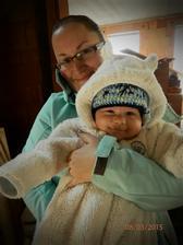 Náš půlroční Šimonek si vybírá pokojíček...:o))