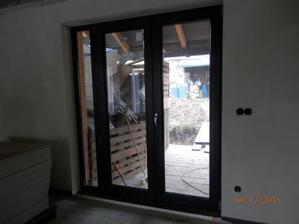 Plastová okna TSHplast. Dveře na terasu