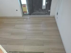 Předsíň - dlažba Rako board 120x20