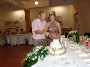 Krájanie torty popolnoci