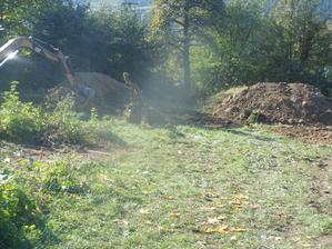 vykopavanie korenov