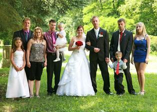 Se sourozenci a jejich rodinami