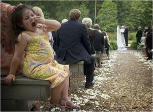 A proto já neměla na svatbě děti...