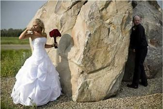 Focení u skal je táááák romantické...
