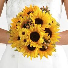 Můj favorit, jasné jsou slunečnice a otázkou zůstává s čím svázané