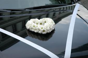 dekorácia autíčka
