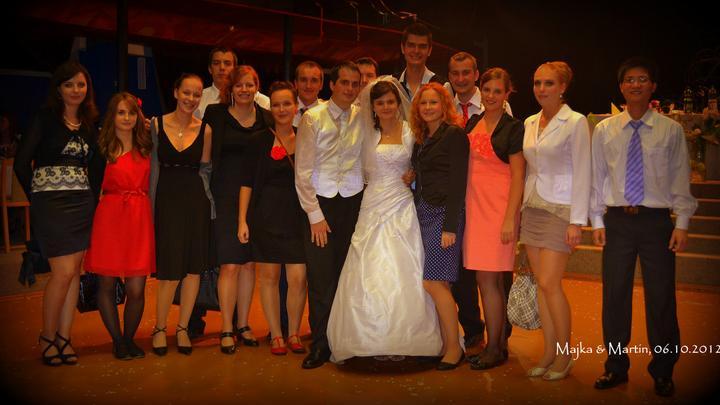 Mária Páleníková{{_AND_}}Martin Florek - s mojimi a manželovými spolužiakmi