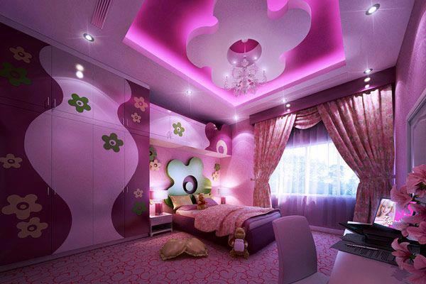 Nábytok pre deti - Detská izba pre malé romantičky :-)