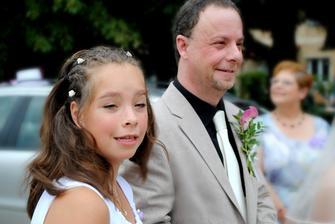 Moje vyvdaná dcera s tatínkem :-)