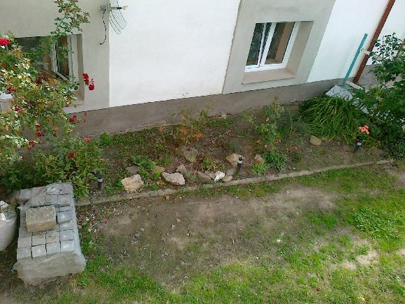 Návrhy části zahrad - Podklad 2