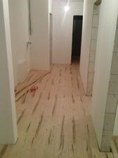 podlaha polozena