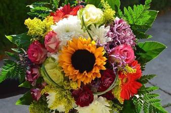 Kvetinárstvo Babička, Budmerice.Evička je pani kvetinárka