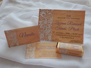 Návrh pozvánok a všetkého šikovná Dominika. FB -  Svadobné stromy a iné alebo @asaria tu na mojej svadbe