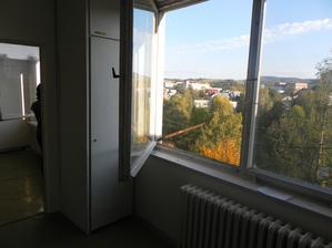 povodne okna - nove su uz objednane - ináč vyhlad je perfektny