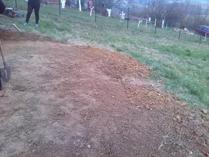 uprava pozemku pod novou chatkou