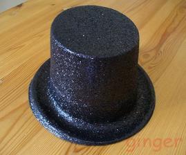 Původně klobouk na ženichovo auto.. ale budeme ho používat při soutěžích při hostině.