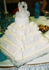 tuto tortu sme dostali od nasich dlhorocnych kamaratov Lucii a Adriana a ich dcerky Tamarky. Bolo to obrovske prekvapenie a torta bola skutocne prekraaasna, dakujeme! Lucia, taktiez Ti velmi pekne dakujem pri zaverecnych svadobnych pripravach, vazim