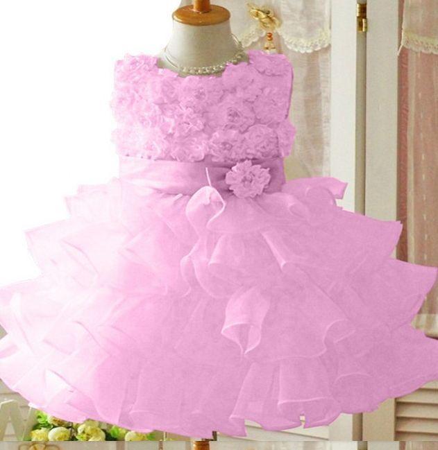Dětské společenské šaty-dívčí - Růžové spol.šaty -  425ac62cc0