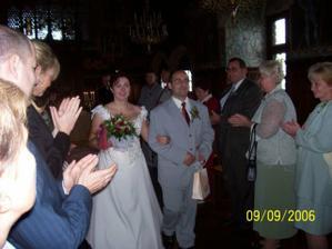 Svatbní špalír