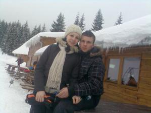 to sme my dvaja..na minuloročnej lyžovačke