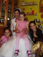 s mojimi sestričkami a kamarátkinou dcérou:)