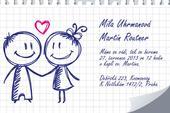 Svatební oznámení S17,