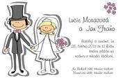 Svatební oznámení S22,