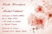 Svatební oznámení S24,