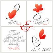 Svatební oznámení S26,