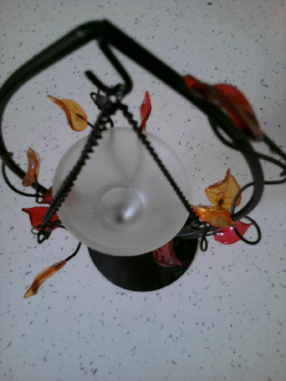 hojdačka na čajovú sviečku - Obrázok č. 1