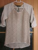 tričko so čipkovým vzorom , 36