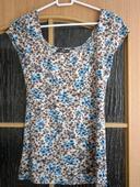 tričko s kvetinovým vzorom, 36