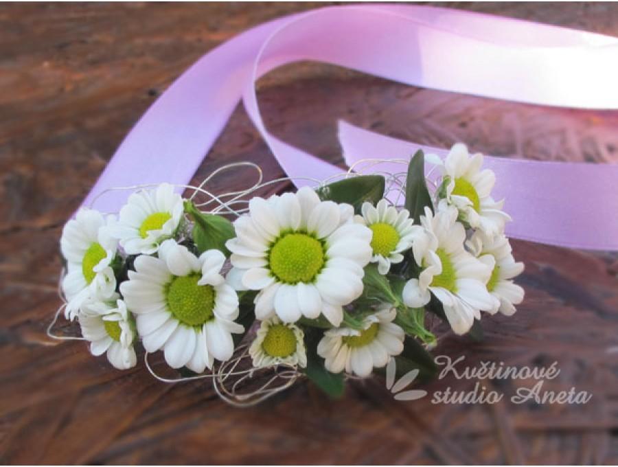 Květinové náramky pro družičky, svědkyně... - Obrázek č. 11