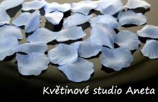 Okvětní plátky 100ks modré - Obrázek č. 1